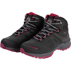 Mammut Nova III Mid GTX Shoes Women black/dark sundown